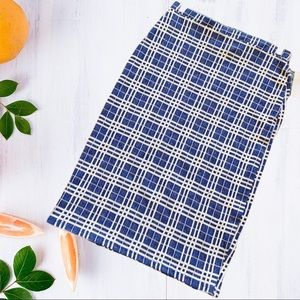 Nordstrom FREE PRESS stretch pull on pencil skirt